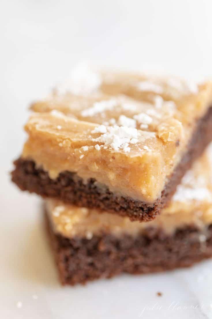 Peanut Butter Gooey Butter Cake
