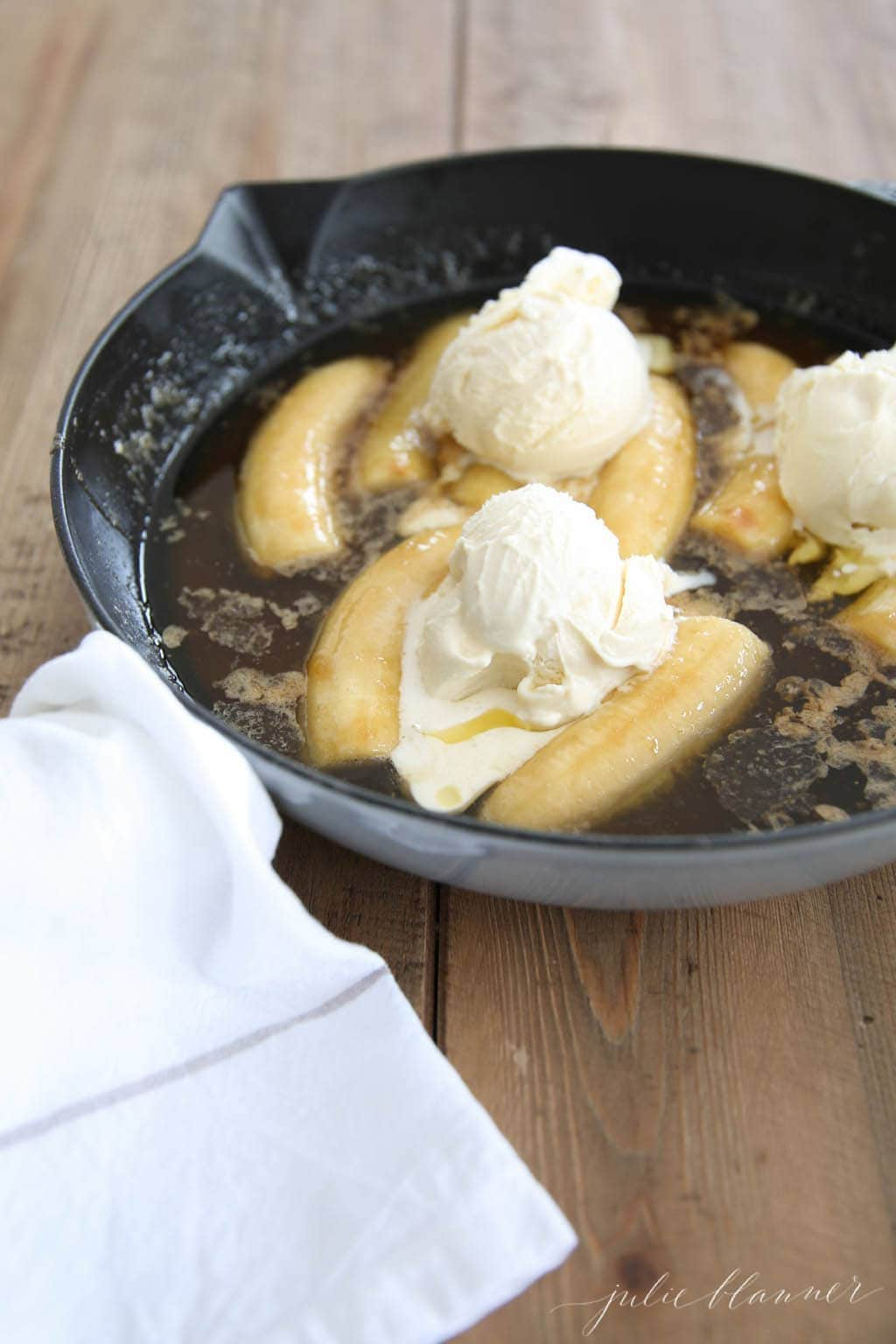 Easy Bananas Foster recipe - an entertaining favorite!