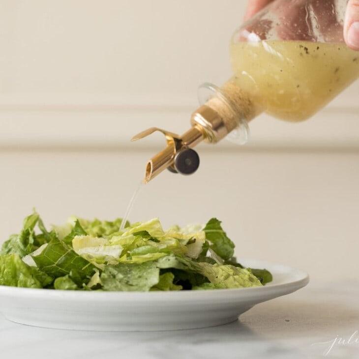 homemade vinaigrette