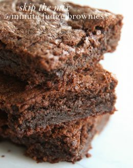 Fudge brownies recipe
