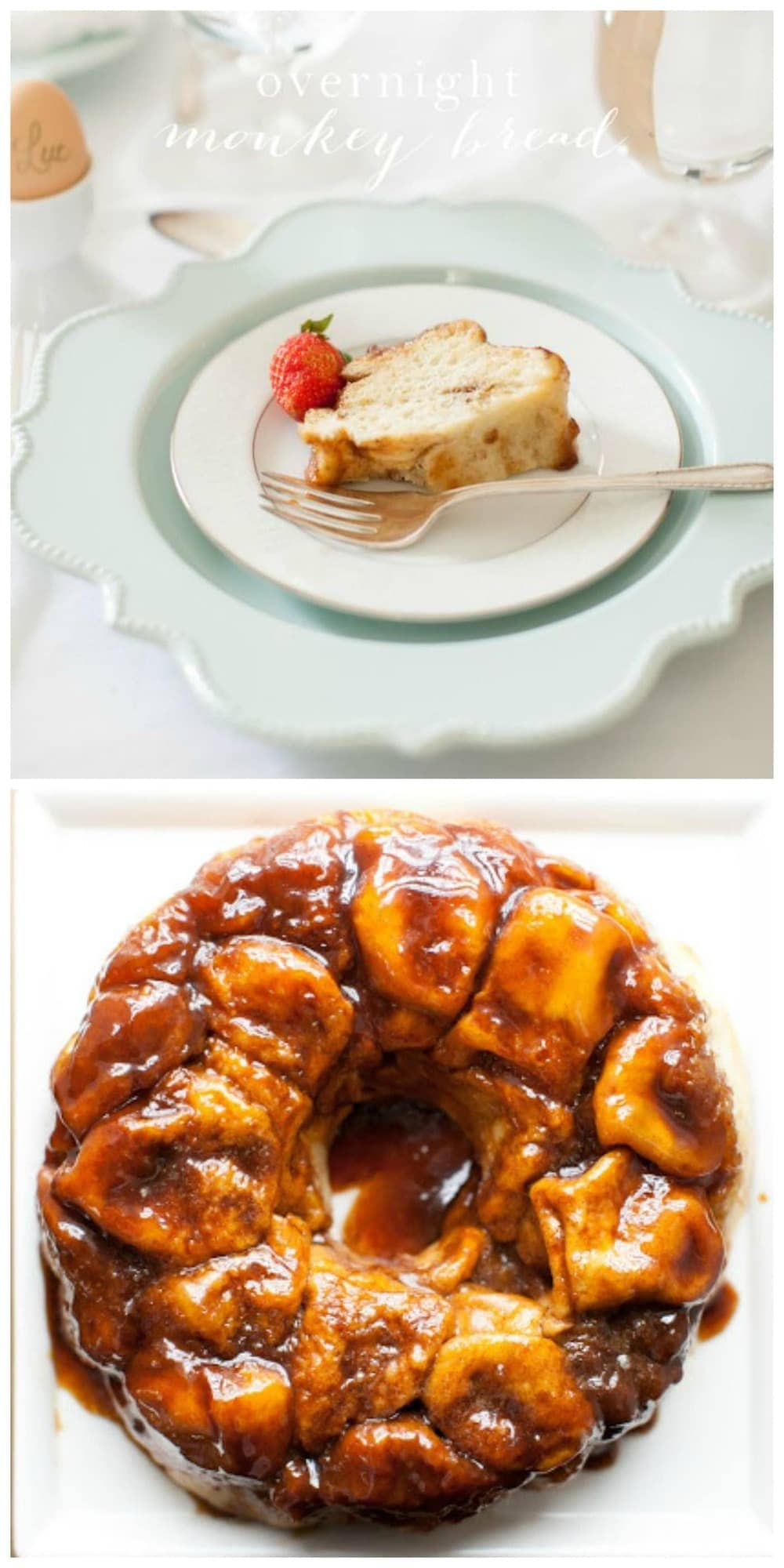 Easy overnight monkey bread recipe - a brunch favorite!