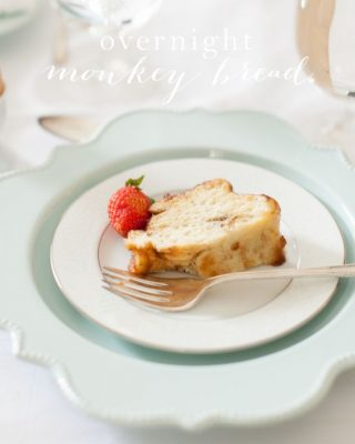 Easy overnight monkey bread...just a few minutes of effort for a lot of smiling faces! My favorite brunch recipe!