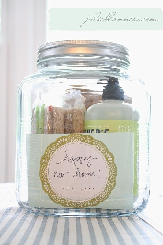 Housewarming Gift In A Jar Coordinately Yours By Julie Blanner
