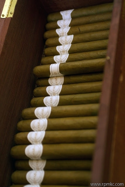 A case of cigars.