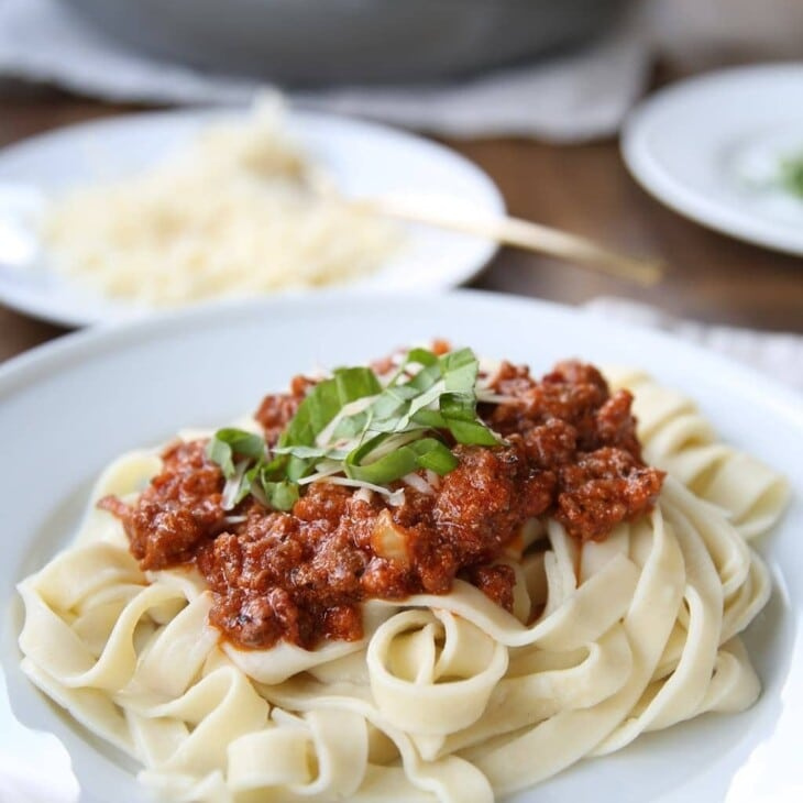 5 Star bolognese sauce without a lot of time & effort!