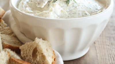 Make ahead appetizer - easy dill dip recipe