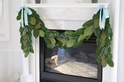 How To Make A Magnolia Garland