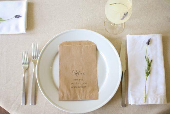 simple and beautiful brunch | lavender and lemonade