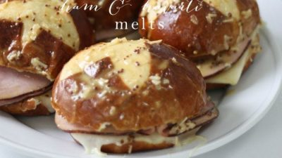 ham & havarti melts - a last minute 10 minute dinner favorite