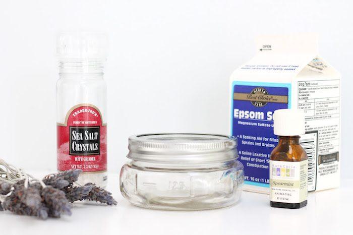 Bath soak ingredients