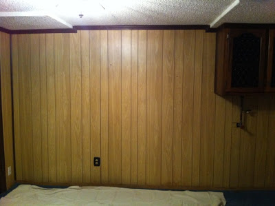 A wooden wall