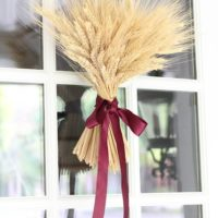 Wheat Sheaf Fall Wreath