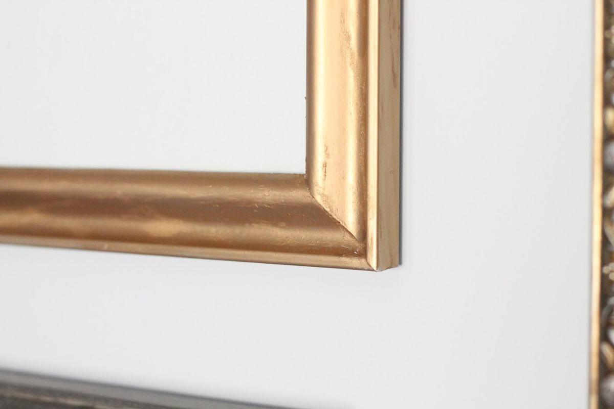 DIY Gilded Frame