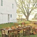 DIY Harvest Table