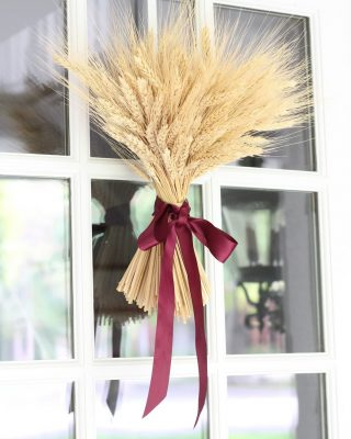 wheat sheaf centerpiece tutorial