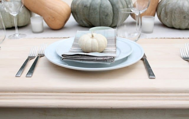 DIY Harvest Table Tutorial via www.julieblanner.com