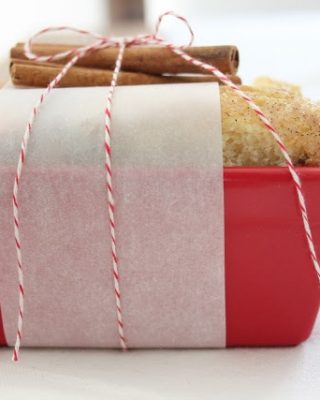 homemade Christmas gifts | easy cinnamon bread recipe