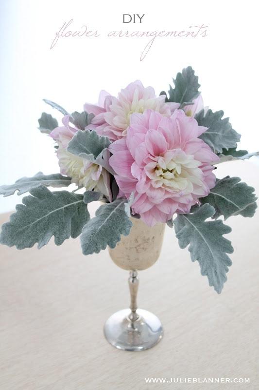 easy diy flower arrangements julie blanner