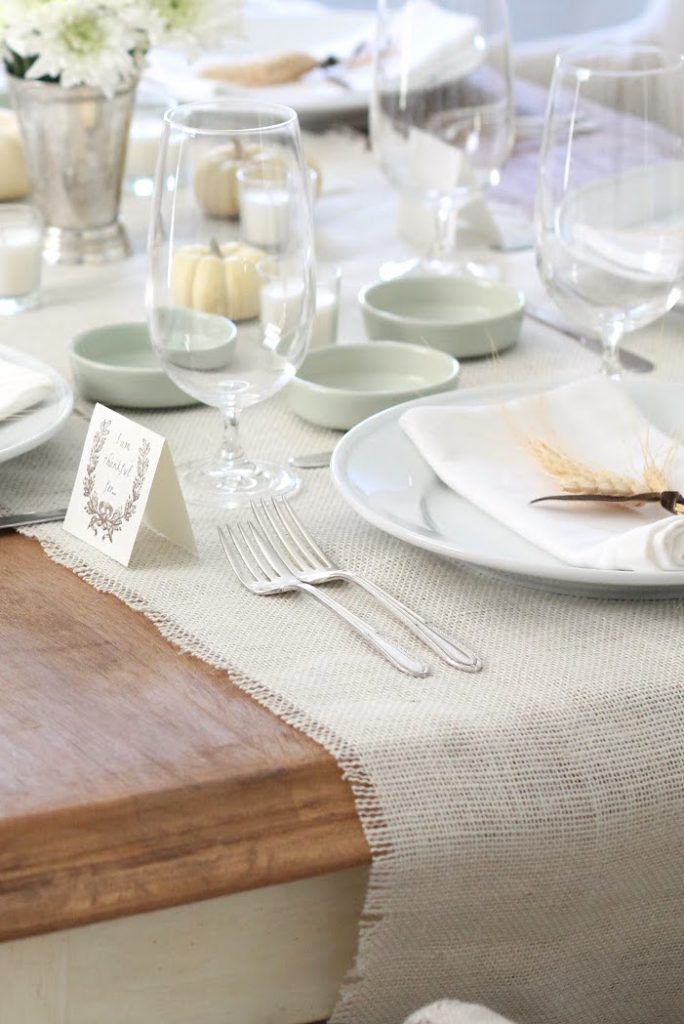 Easy Thanksgiving entertaining ideas