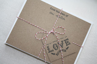 diy personalized stationary and other handmade holiday gift ideas via www.julieblanner.com