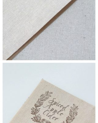 Learn how to print on fabric to create labels, invitations & art