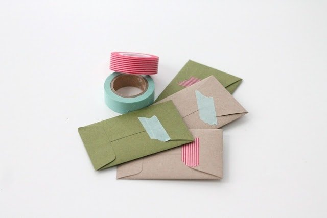 how to beautifully wrap gift cards via www.julieblanner.com