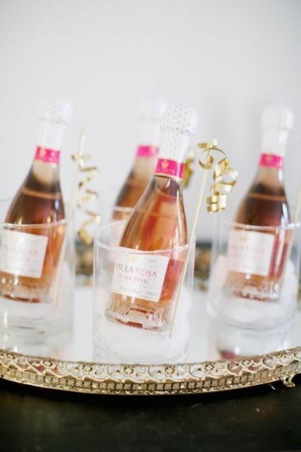 miniature champagne