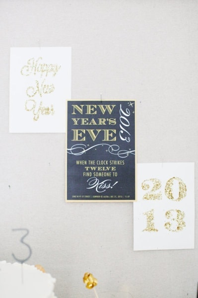 New Year's decor ideas