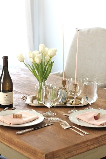Valentine S Day Table Setting