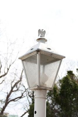 An outdoor lamp