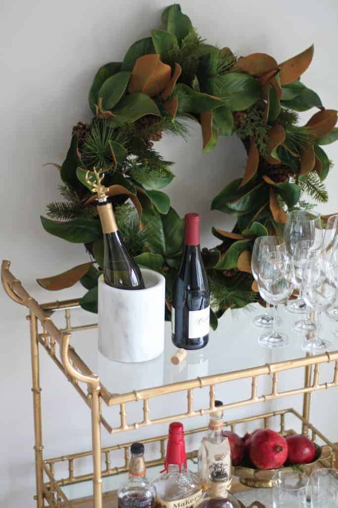 Brass Bar Cart Where To Find The Cute Gold Bar Cart Of Your Dreams