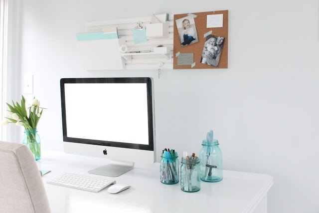 Tips to create a beautiful, organized and inspired office - Martha Stewart Wall System