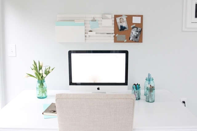 Tips to create a beautiful, organized and inspired office
