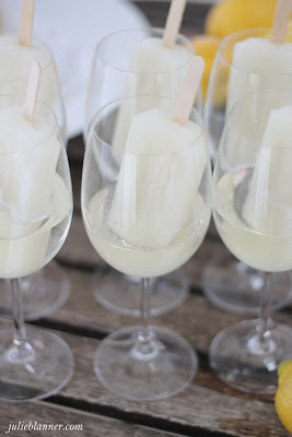 Champagne Popsicle Party