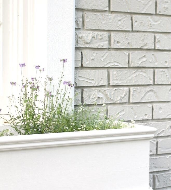 Easy DIY window planters - create your own planter boxes with these simple step by step instructions