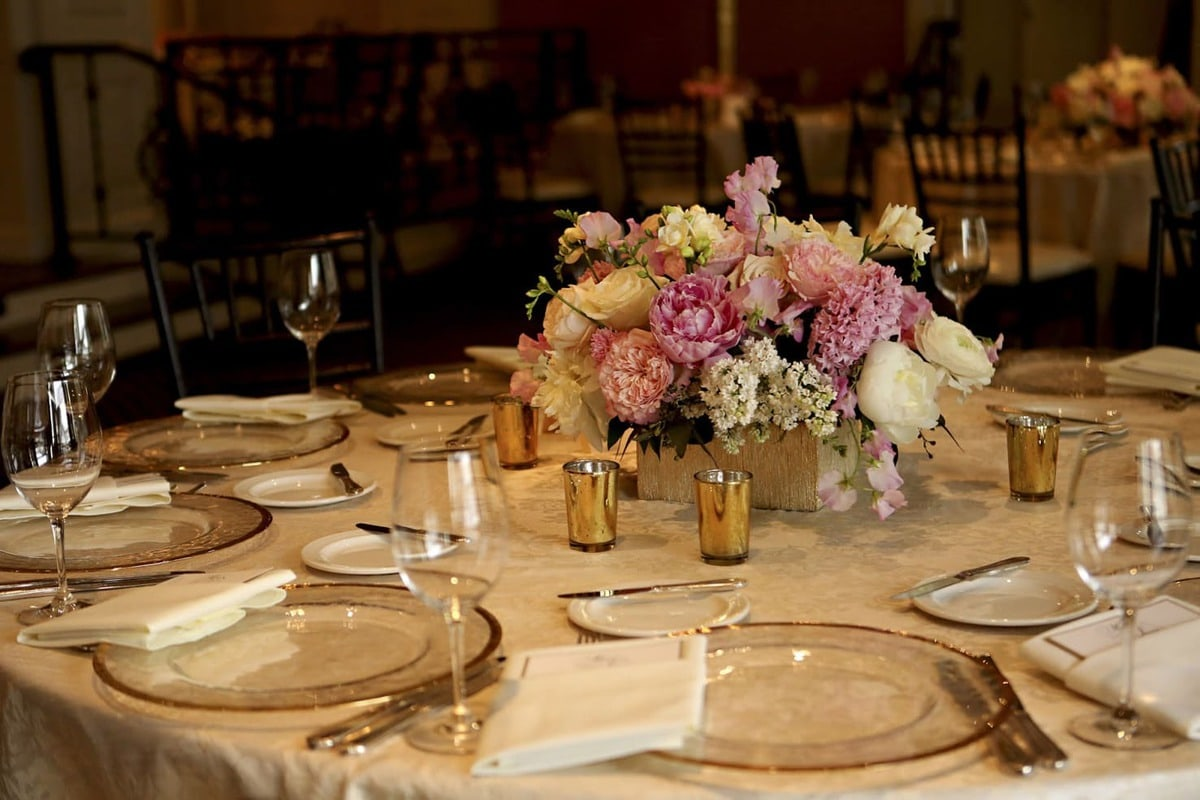 Pink And Gold Wedding By Wirken Photography