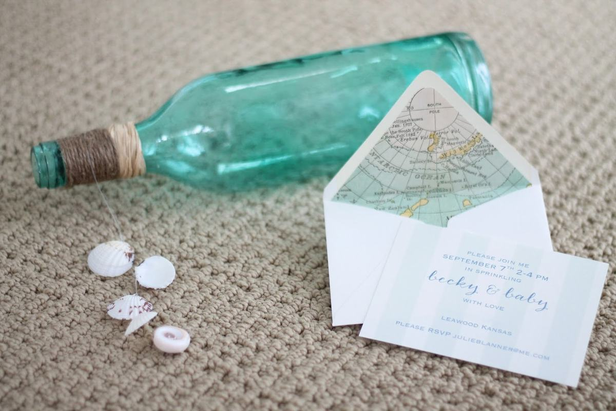 diy nautical invitations