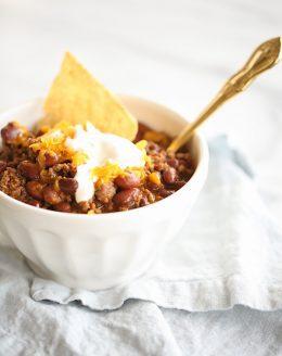 easy 10 minute dinner, homemade chili recipe