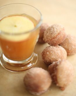 Easy apple cider donut holes recipe