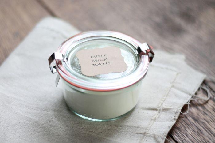 Mint Milk Bath