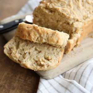 Incredibly good {and easy} beer bread recipe!