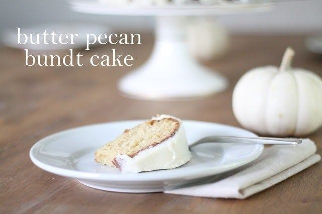 Butter Pecan Bundt Cake Recipe Julie Blanner