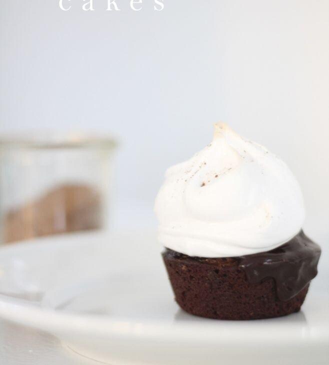 A mini hot cocoa cake