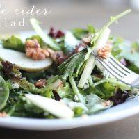 Apple Cider Salad with Apple Cider Vinaigrette