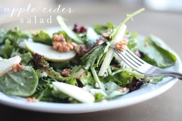 Fall salad with apple cider vinaigrette - Where can i buy olive garden salad dressing ...