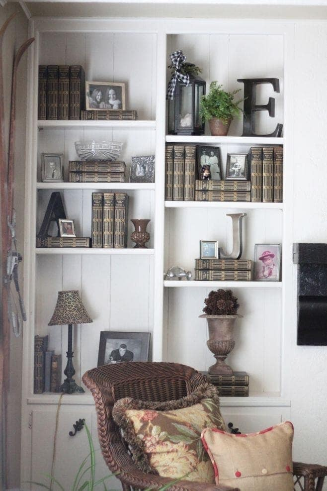 styling bookcases - Styling Bookcases