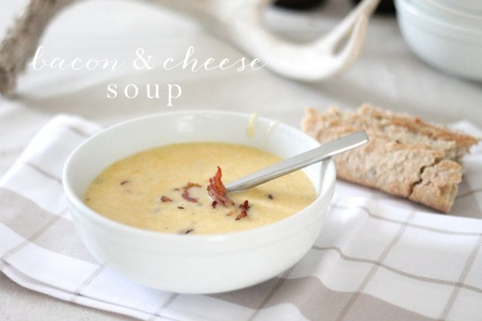 bacon beer & cheese soup recipe