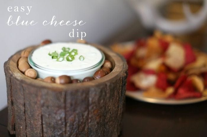 Blue Cheese Dip - Julie Blanner entertaining & design that celebrates ...