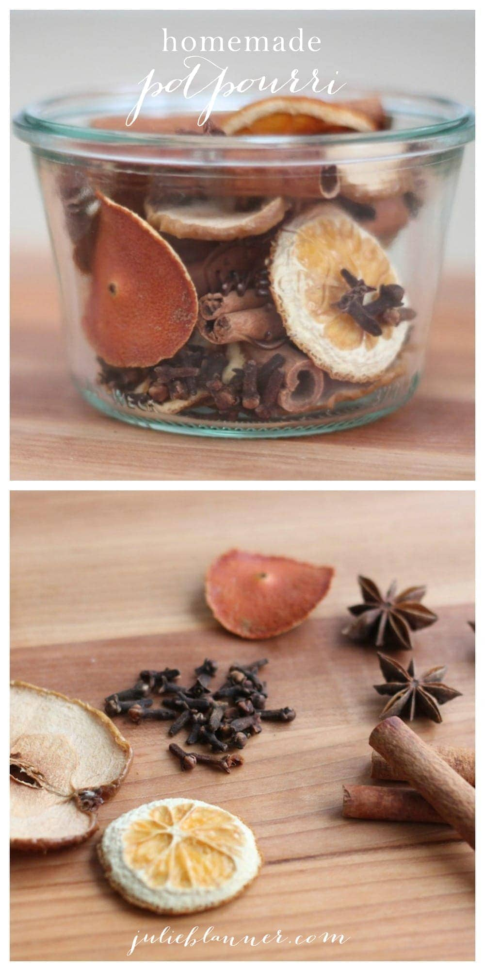 Homemade potpourri recipe from lifestyle blogger julie blanner - Homemade scent recipes ...