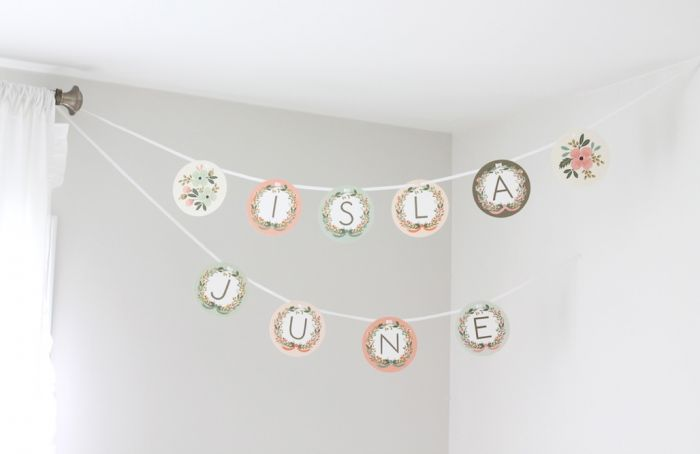 Rifle Paper Co stationary garland